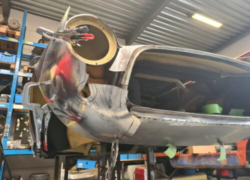 Body restauratie Ghia 1500 GT
