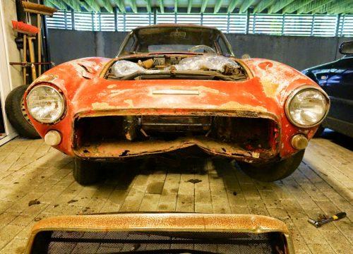 Fiat Ghia 1500 GT – Eigen project